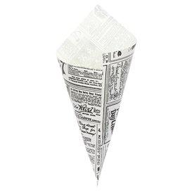 Cono de Papel Antigrasa Times 240mm 100g (2.000 Uds)