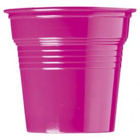 Vaso de Plástico PS Fucsia 80ml Ø5,7cm (50 Uds)
