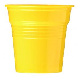 Vaso de Plástico PS Amarillo 80ml Ø5,7cm (1500 Uds)