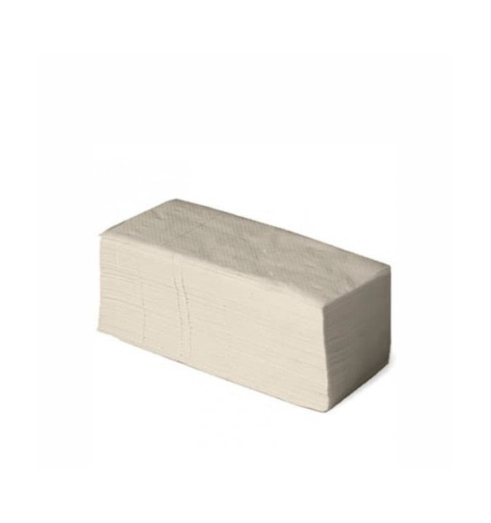 Toalla de Papel Secamanos Natural 1 capa (190 Unidades)