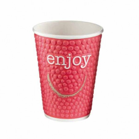Vaso Café Enjoy de 12oz/403ml (680 Unidades)