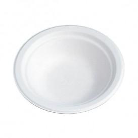 Bol de Fibra de Cartón 200ml Blanco (100 Uds)