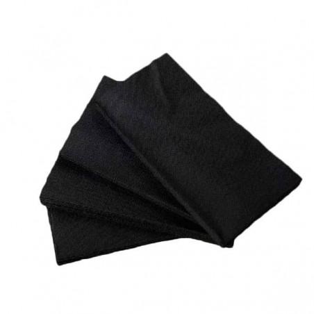 Servilleta de Papel 1/8 40x40 Negro (1.200 Uds)