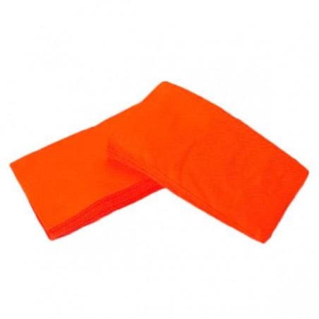 Servilleta de Papel 1/8 40x40 Naranja (1.200 Uds)