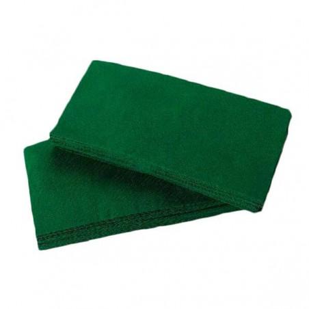 Servilleta de Papel 1/8 40x40 Verde (1.200 Uds)