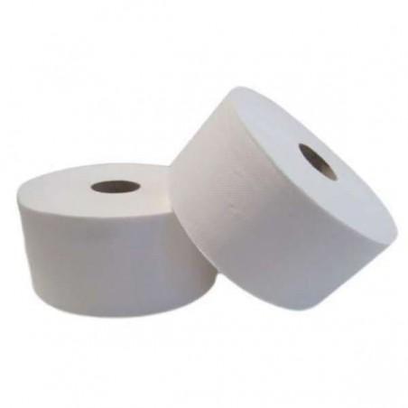 Papel Higienico Industrial 2 Capas 0,35 Kg Pasta 115m (18 Uds)