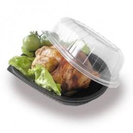 Envase Plastico para Pollo con Tapa (100 Unidades)