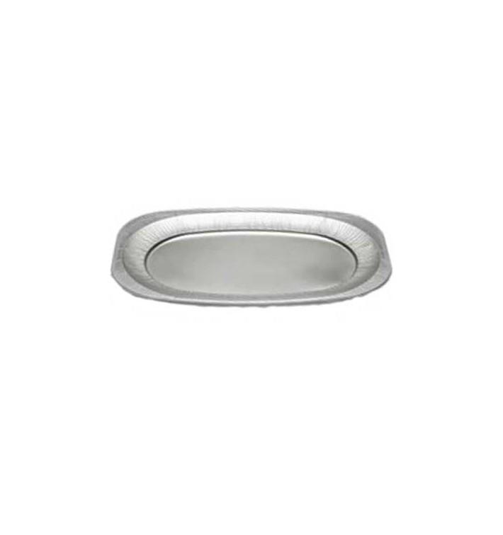 Bandeja Ovalada de Aluminio 2150ml (60 Uds)
