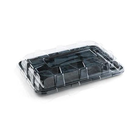 Bandeja Plastico Catering Rectang. Mármol 55X37 cm (5 Uds)