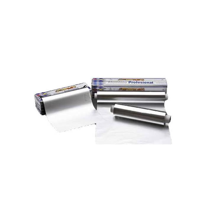 Bobina de Aluminio 40cm x 300m 3,1Kg en Dispensador (1 Ud)