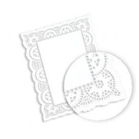 Blonda de Papel calada blanca LITOS 20x30cm (2000 Uds)