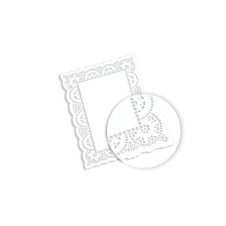 Blonda calada blanca de Papel LITOS 20x30cm (Caja 2000 unid)