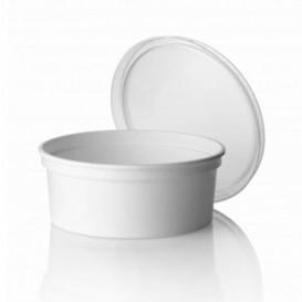 Tarrina de Plastico Blanca 350ml Ø11,5cm (500 Uds)