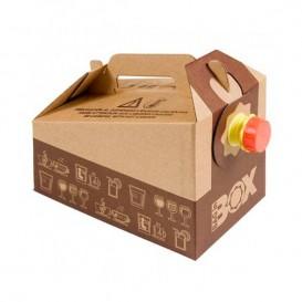 Termo Desechable de Cartón 3.000 ml (1 Ud)