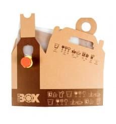 Termo Desechable de Cartón 3.000 ml (25 Uds)