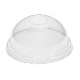Tapa Cupula Cerrada Vaso PET 215ml y 295ml Ø8,1cm (100 Uds)