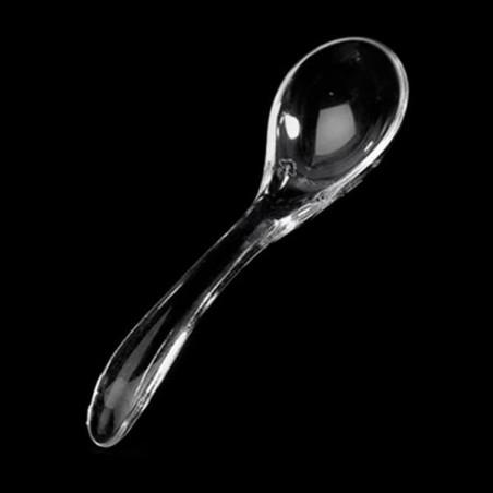 Cucharita para salsa Transparente 8 cm (500 Unidades)