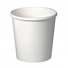 Tarrina de Cartón Blanca para Sopa 16 Oz (500 Uds)