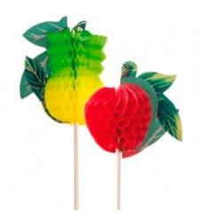 Adornos para Helados Frutas 20cm (100 uds)