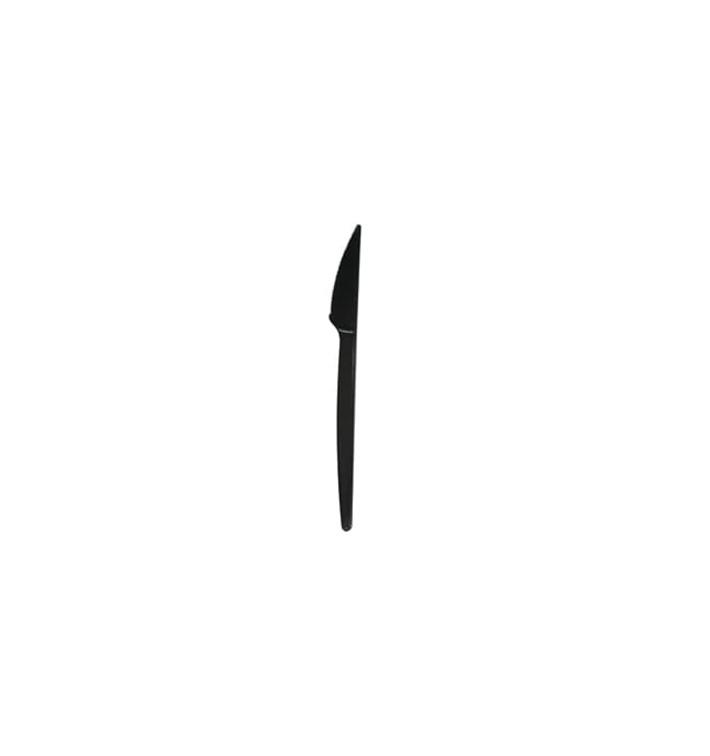 Cuchillo de Plástico Económico Negro 165mm (2000 Uds)