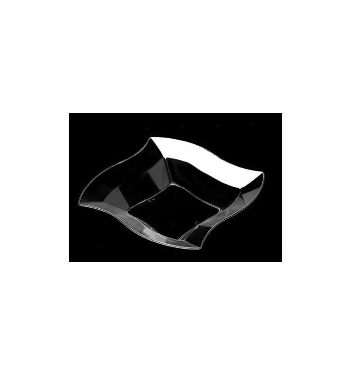 Bol de Plastico Rigido Transparente 210mm  (6 Uds)