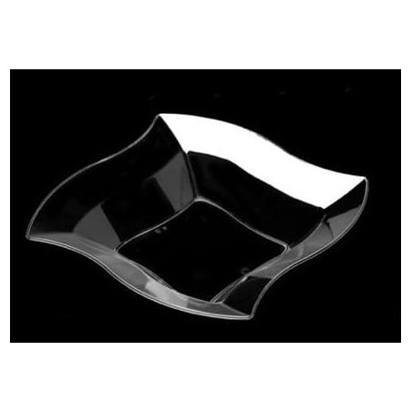 Bol Plastico Rigido Transparente Cristal de 21cm (108 Uds)