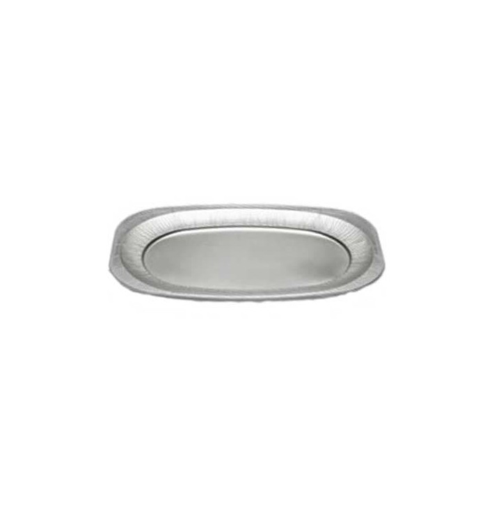 Bandeja Ovalada de Aluminio 2150ml (10 Uds)