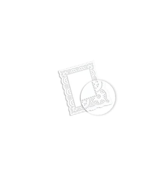 Blonda de Papel calada blanca LITOS 30,5x40cm (250 Uds)