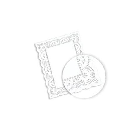 Blonda calada blanca de Papel LITOS 30,5x40cm (Caja 2000 unid)