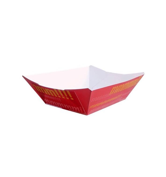 Barqueta 525ml Cartoncillo 12,1x8,1x5,5cm (25 Uds)