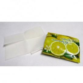 Toallitas Refrescantes Limón en Estuche con motivo de limones (100 Uds)