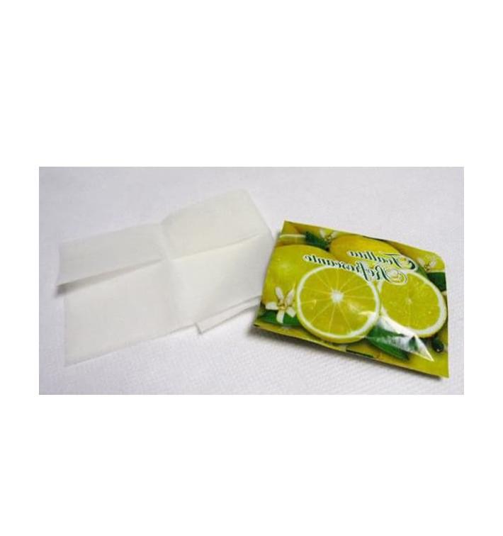 """Toallitas Refrescantes Limón motivo """"Limones"""" (100 Uds)"""