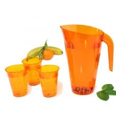 Jarra Plástico Berenjena Reutilizable 1.500 ml (1 Unidad)