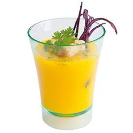 """Vaso Plastico Degustacion """"Water Green"""" 5x6,5cm (12 Uds)"""