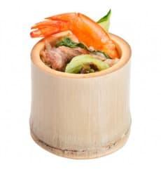 Vaso de Bambu Degustacion Pequeño 5x5x4,5cm (200 Uds)