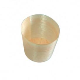 Vaso de Madera Degustacion 0,5oz/14ml 4,4x4,5cm (50 Uds)