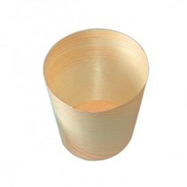 Vaso de Madera Degustacion 1oz/30ml 6x6cm (50 Uds)