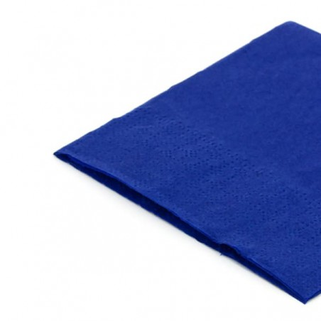 Servilleta de Papel Cocktail 20x20cm Azul (3.000 Uds)