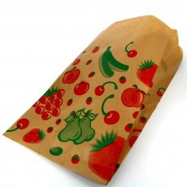 Bolsa Kraft para Fruta 18+10x32cm (100 Uds)