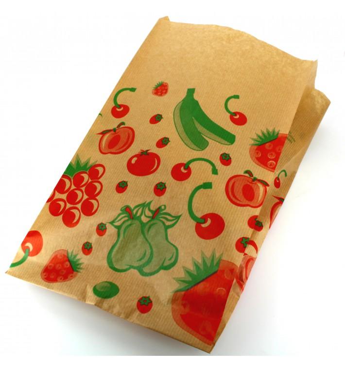 Bolsa Kraft para Fruta 22+12x36cm (1000 Uds)