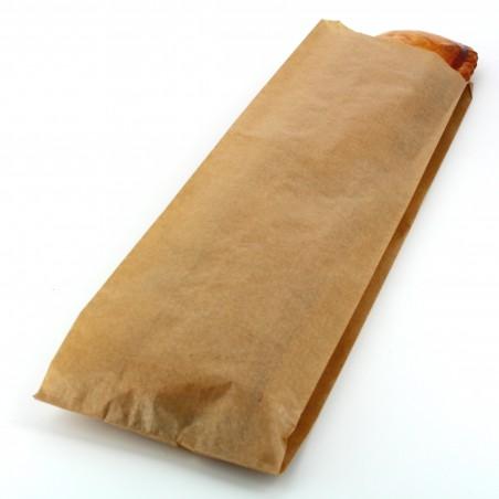 Bolsa de papel Kraft 9+5x32cm (250 Unidades)