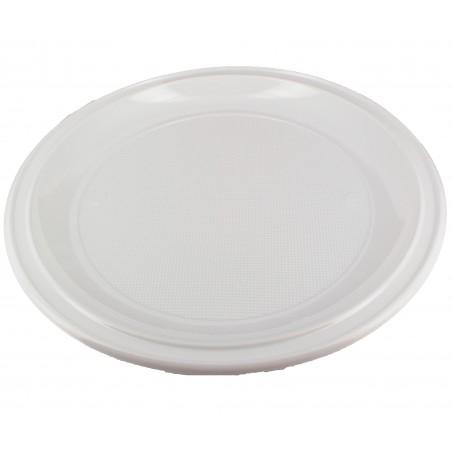 Plato de Plastico PS para Pizza Blanco Ø280 mm (400 Uds)
