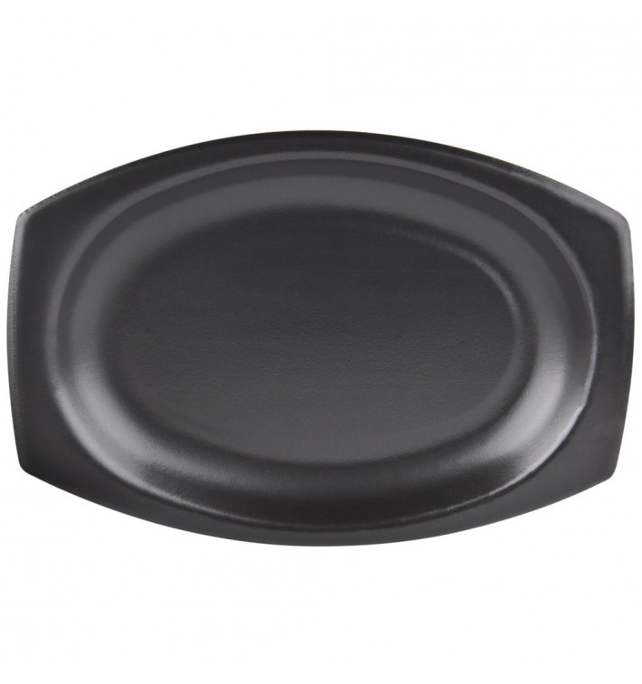 Bandeja Termica Foam Negra 230x180mm (500 Uds)