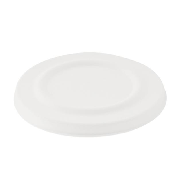 Tapa para Tarrina 425ml Caña de Azúcar Blanca (50 Uds)