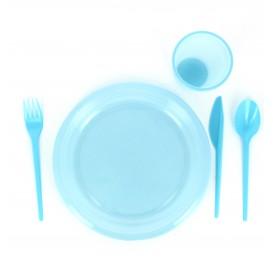 Cuchillo de Plastico PS Azul 165 mm (900 Uds)
