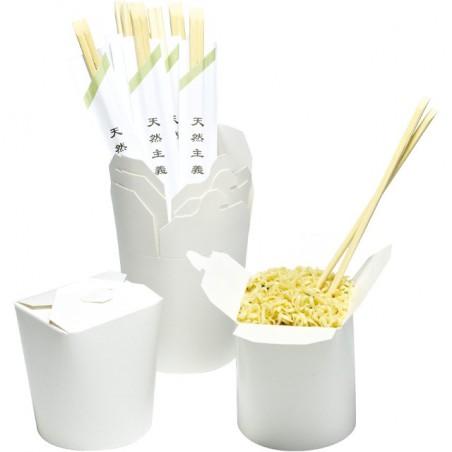 Envase de Comida para Llevar Blanco 529ml (50 Uds)