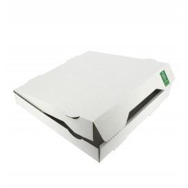 Caja Carton Blanca 24x24x4,2 cm (100 Uds)