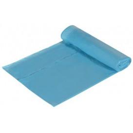 Bolsa Basura Azul 55x55cm Cierre Facil (15 Unidades)
