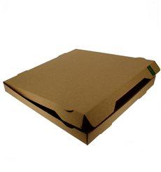 Caja Carton Kraft 33x33x3,5 cm (100 Uds)