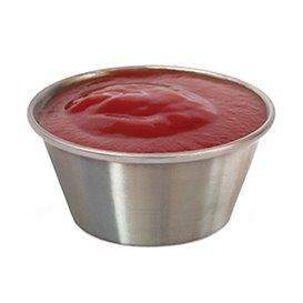 Tarrina Inox para Salsas 90ml (12 Uds)